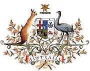 オーストラリア連邦政府の紋章(Coat of Arms)