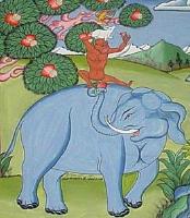 ブータンに伝わる四匹の力