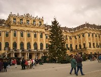 ウィーンのシェンブルン宮殿
