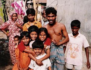 バングラデシュの人々