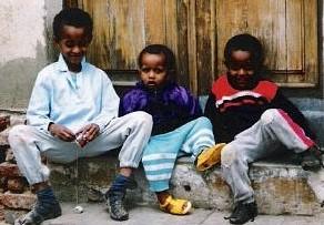 エリトリアの子供たち