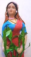 茶摘み娘の人形