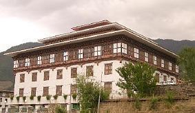 ブータンの歴史的建築物