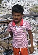 モルディブ被災地の子供たち