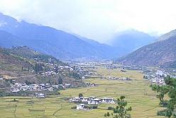 ブータンの景色