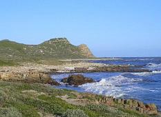 アフリカの最も南西の地点「喜望峰」