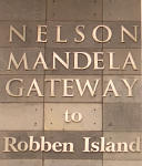 マンデラ氏が投獄されたいたロッベン島へのゲイトウェイ