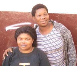 南アフリカの女性たち