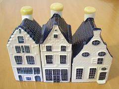 KLM航空で貰えるミニチュアの家