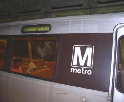 ワシントンのメトロ(地下鉄)